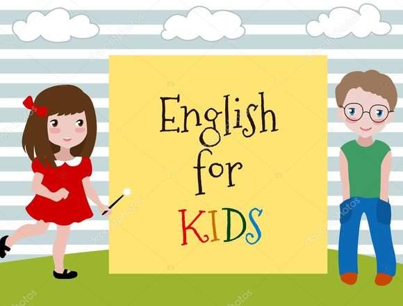 Con ganas de enseñar Ingles a niños.