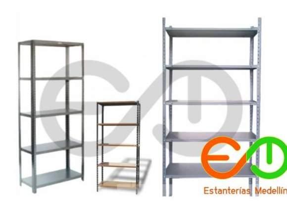 estanterias y estantes metalicos Medellin Colombia