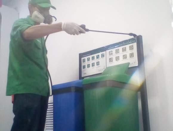 Control de Roedores, fumigación, lavado de tanques