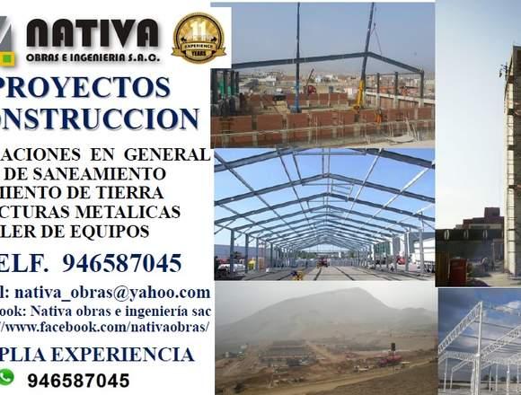 CONSTRUCCIONES METÁLICAS Y OBRA CIVIL
