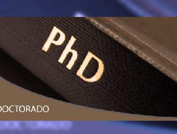 Asesoría en tesis universitarias, maestrías y PhD.