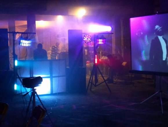 Renta de Sonido y Luz con Karaoke en Tijuana