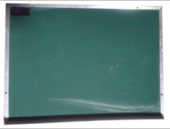 Pizarrón verde de 45cm x 60cm (NO ES DE FORMAICA)