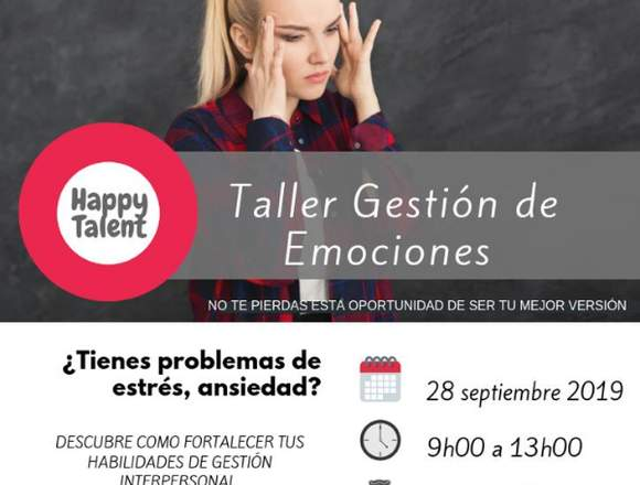 Taller de emociones  -  Happy Talent