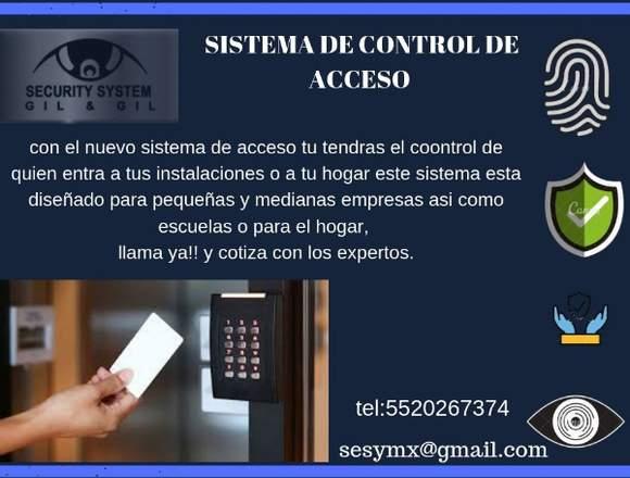 sistemas de control de acceso y seguridad
