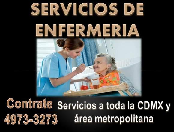 Cuidadoras Enfermeras a domicilio y en hospitales