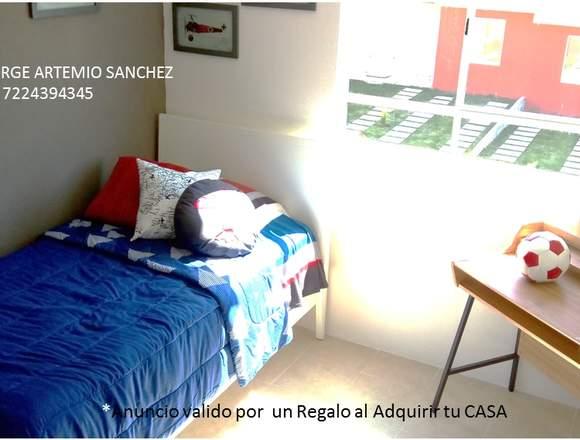 Casa 3 recamaras CON ALBERCA + GIMNASIO PRIVADO