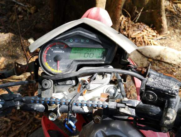 Moto Fórmula 250cc de cross