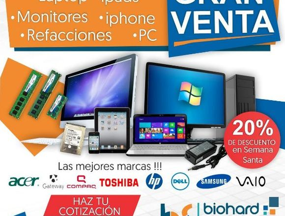 BIOHARD SYSTEMS PROMOCIÓN DE LAPTOP DELL E5450