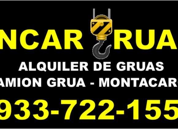SERVICIO ALQUILER GRUAS PARA CARGA
