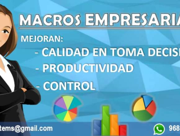 Automatización en Macros Excel