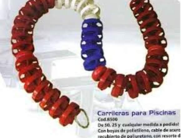 CARRILERAS PROFESIONALES PARA NATACIÓN