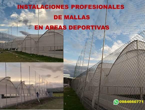 INSTALACIÓN DE MALLAS POR PROFESIONALES