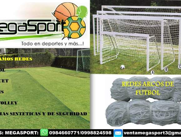 REDES PARA ARCOS DE FÚTBOL 022526826
