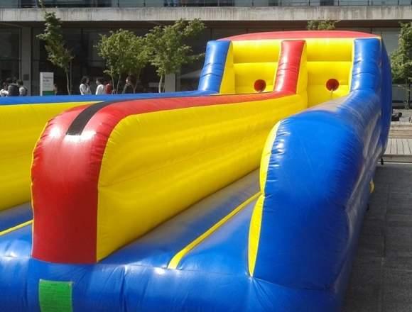 Juego inflable destreza para competencias