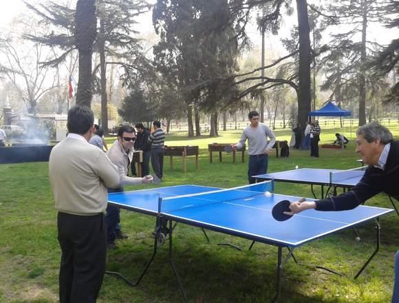 mesas de ping pong para eventos