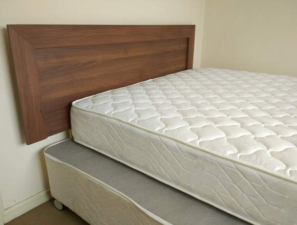 Cama Americana New Entree 2 Plazas Base Normal