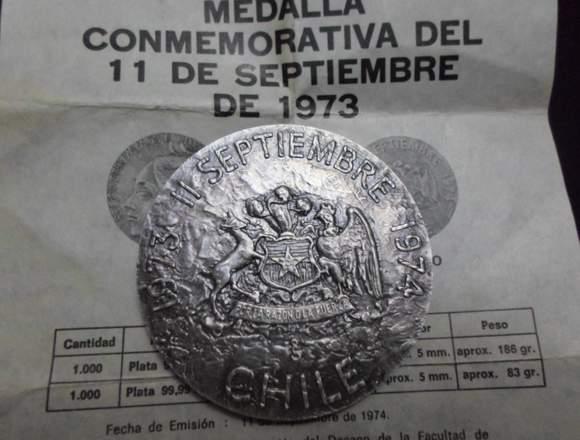 Medalla conmemorativa del 11 de septiembre de 1973