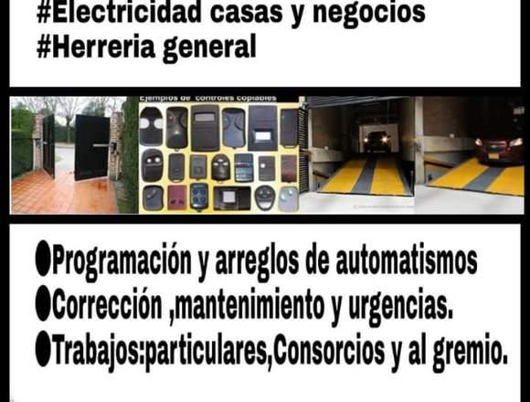 Automatización y reparación de portones.
