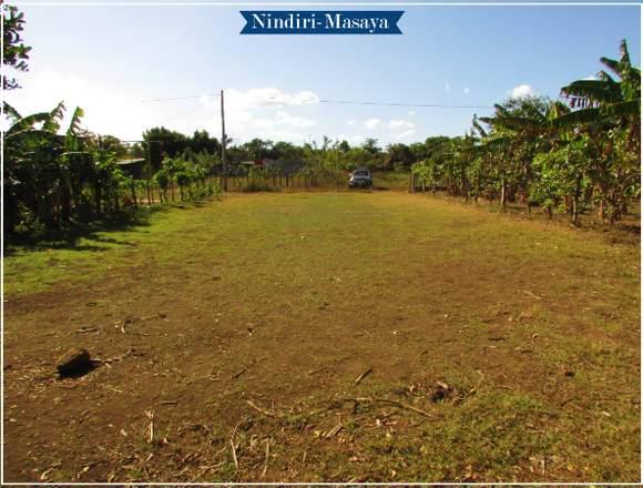 Venta de terreno en la ciudad de Nindiri-