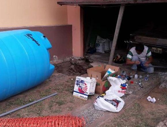 INSTALACION CISTERNA, TANQUE ELEVADO CEL 969764755