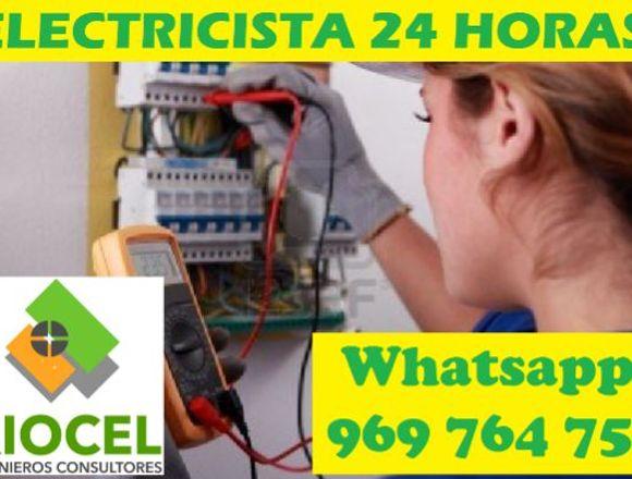 ELECTRICISTA CORTO CIRCUITO FUGA CEL 969 764 755