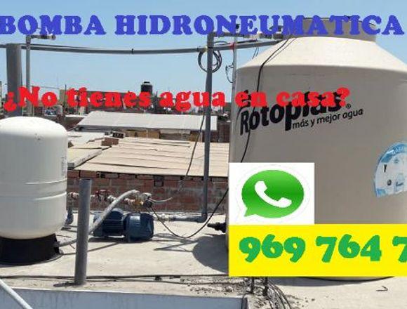 INSTALACION BOMBA HIDRONEUMATICA CEL 969 764 755
