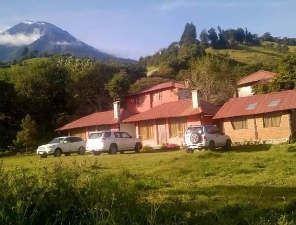 Hostería en Venta en la Comunidad de Runtun
