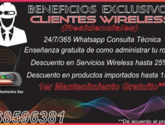 SERVICIO TÉCNICO PROFESIONAL REDES WIRELESS
