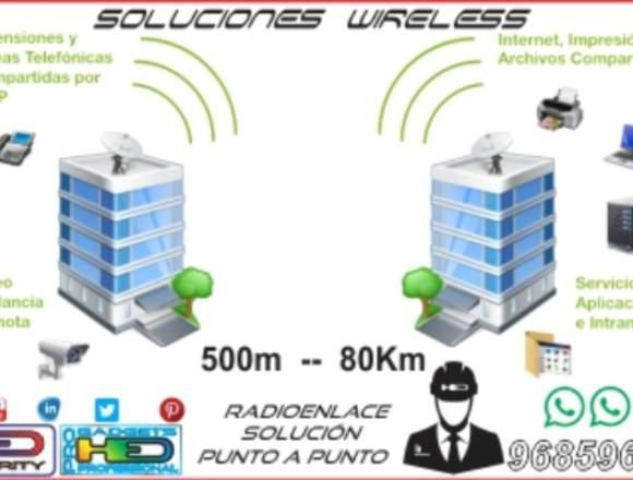Radioenlace Wifi Redes Negocios Comercial