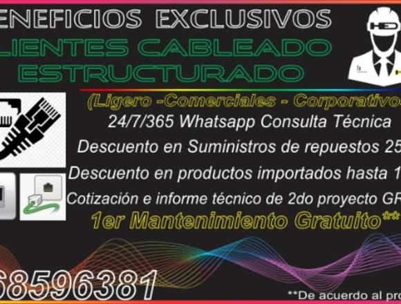 CABLEADO ESTRUCTURADO HED ELECTRONICS