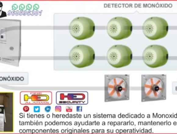SERVICIO TECNICO EXTRACTORES CO HED ELECTRONICS