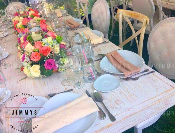 Servicio de banquetes y realización de eventos