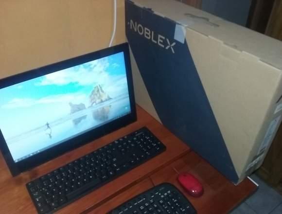 Vendo PC Noblex AIO a18w102 + Escritorio
