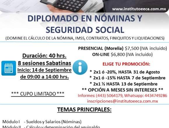 Diplomado de Nóminas y Seguridad Social