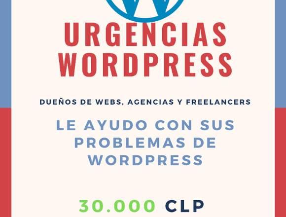 Urgencias Wordpress