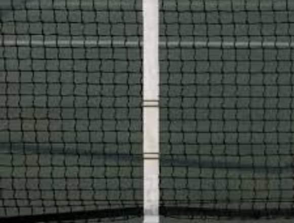 Red de fútbol tenis reglamentarios