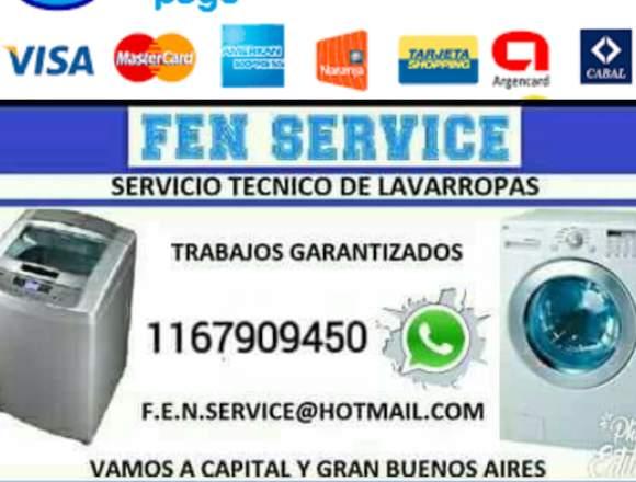 servicio técnico de lavarropas