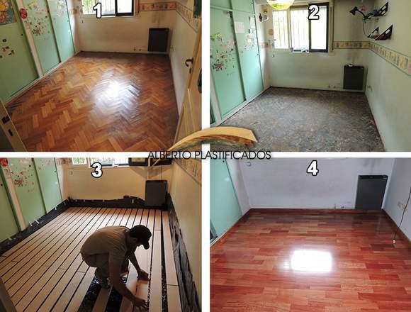 Colocación de pisos /Revestimiento escaleras