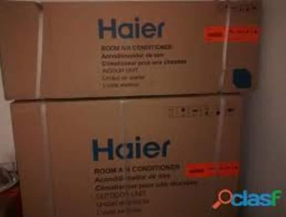 AIRE ACONDICIONADO MARCA HAIER TLF (0212)8618564