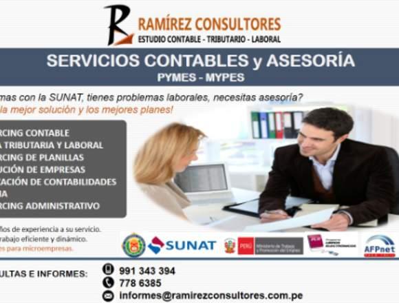 ESTUDIO CONTABLE- RAMIREZ CONSULTORES