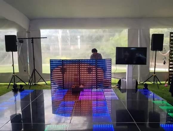 Dj, Audio, Pista Iluminada, Fiesta de Espuma