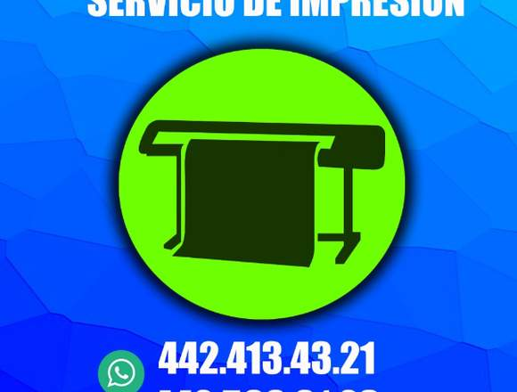 Servicio de Imprenta