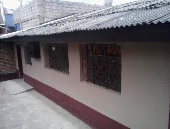 Bonita casa antigua una planta