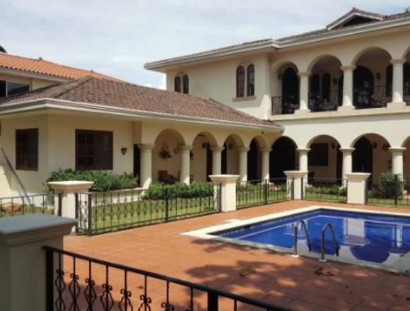 19-3285 AF Majestuosa casa se vende Costa del Este