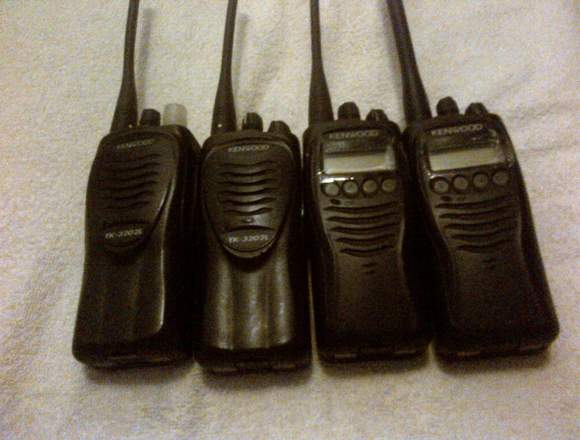 Radios Kenwood TK 3202 UHF y TK 3212 VHF