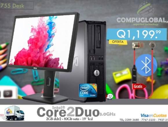Computadora de escritorio con Wifi