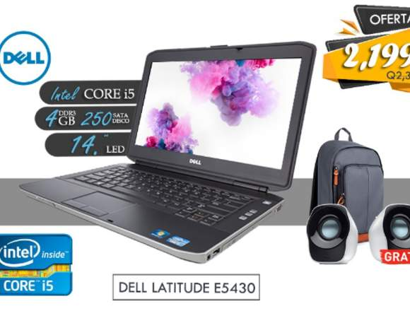Laptop Core I5 Gratis Mochila