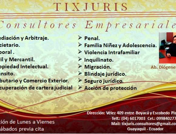 ABOGADO EN GUAYAQUIL DIOGENES MANJARREZ TIXJURIS /