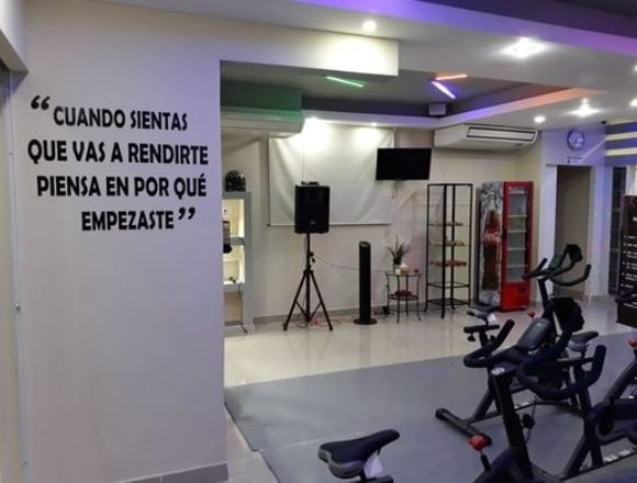 Sala de Deportes Multifuncionales, Spinning , TRX